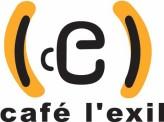 LOGO CAFÉ L'EXIL